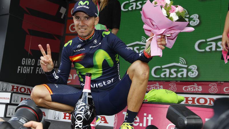 16 tappa Bressanone - Andalo - Alejandro Valverde